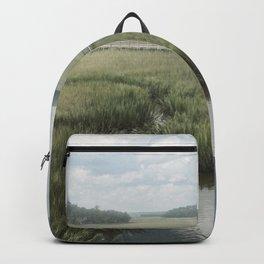 Peaceful Marshy Meadow Backpack