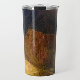 THE MACHU PICCHU VALLEY- PANORAMIC VIEW Travel Mug