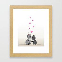 Purrfect Paws Framed Art Print