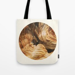 Abstract Wood Design Tote Bag