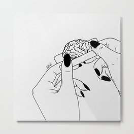 Rolling your mind. Metal Print