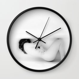 Self Confinement Wall Clock