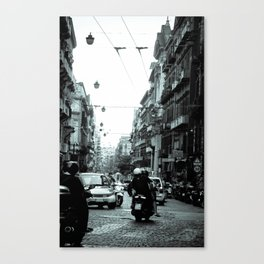 Naples, Spanish Quarter 1 Canvas Print