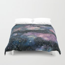 Reflections Galaxy Duvet Cover