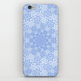 Star Vortex - Color: Cerulean Sky iPhone Skin