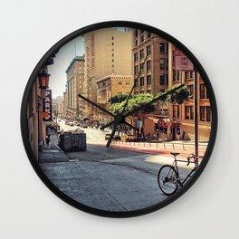 City Wanderlust Wall Clock