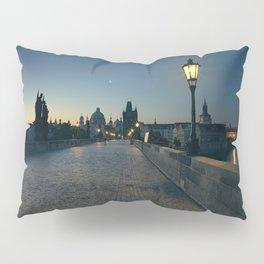 Charles Bridge at Blue Hour Pillow Sham