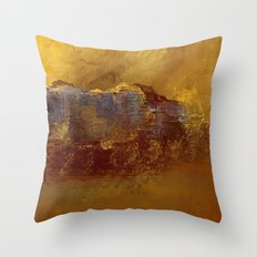 City Impressionism by the Bay Throw Pillow