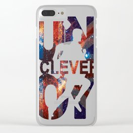 Run you clever boy Clear iPhone Case