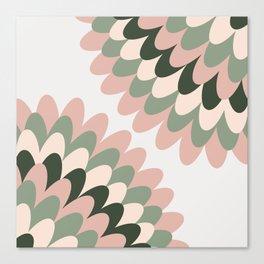 Dahlia at Office Canvas Print