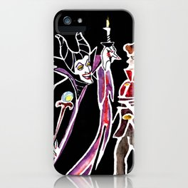Maleficent & Prince Phillip iPhone Case