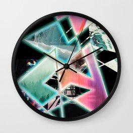 Leng Pattern 6 Wall Clock