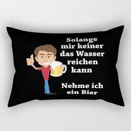 Beer Saying Rectangular Pillow
