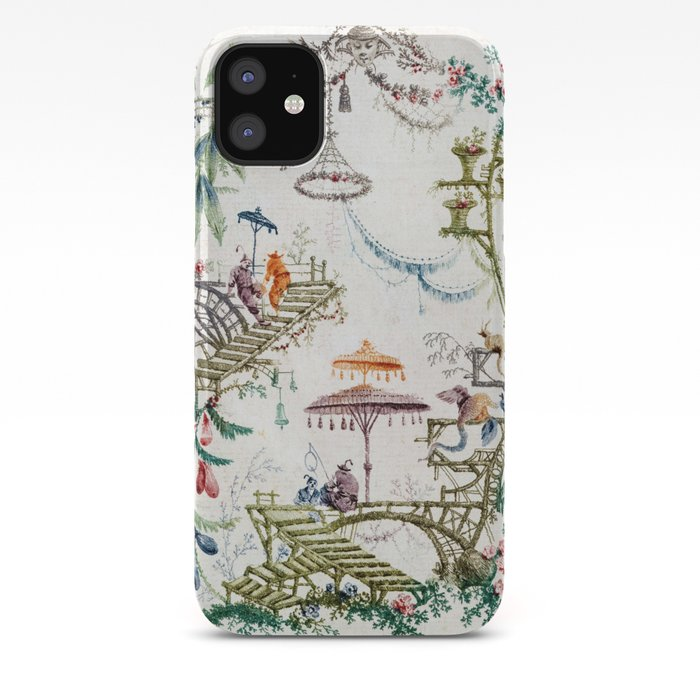 Enchanted Forest Chinoiserie iPhone Case