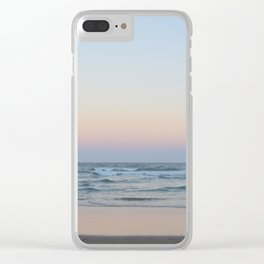 Natural Australian Sunset Clear iPhone Case