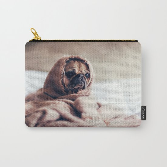 Cute Little Pug Carry-All Pouch