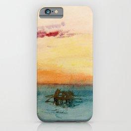 William Turner - The Lagoon near Venice at Sunset iPhone Case