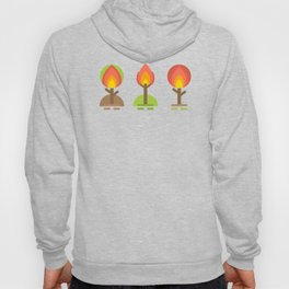Fire Trees Hoody