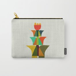 Whimsical bromeliad Carry-All Pouch