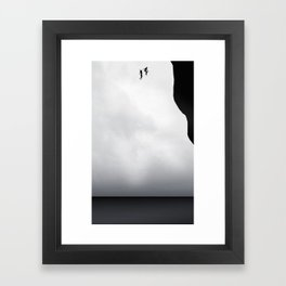 Let's jump together Framed Art Print