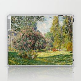 The Parc Monceau by Claude Monet Laptop & iPad Skin