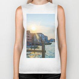 Sun over Venice Biker Tank