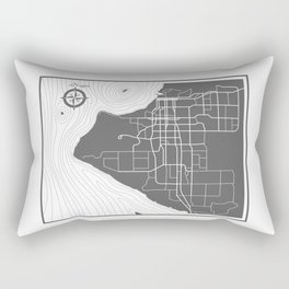 Veins and Arteries Rectangular Pillow