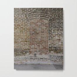 Bricked Doorway Metal Print