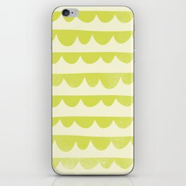 Scalloped iPhone Skin