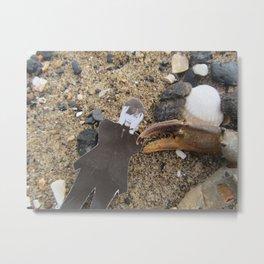 Jarvis (at the sea-side) Metal Print