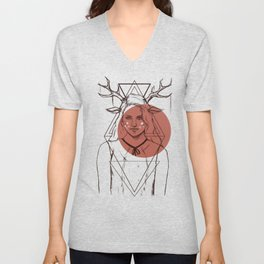 Bambi Lady Unisex V-Neck