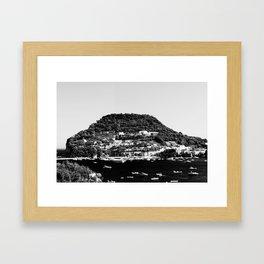 black island Framed Art Print