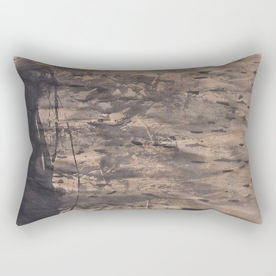 Zen Ink 3 Rectangular Pillow