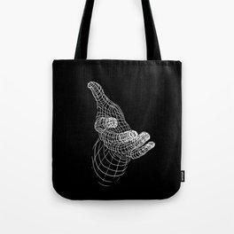 Hand Line Tote Bag