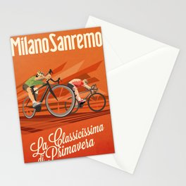 Milan San Remo cycling classic Stationery Cards
