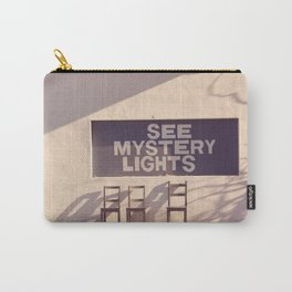 See Mystery Lights - Marfa, Texas Carry-All Pouch