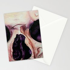 close up skull 3 Stationery Cards
