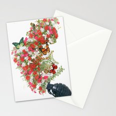 Make love not war - by Ashley Rose Standish Stationery Cards