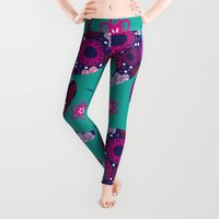 paisley Leggings featuring Paisley by luizavictoryaPatterns