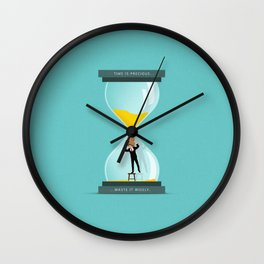 The Time Keeper Wall Clock