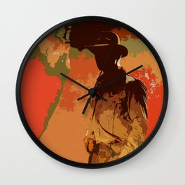 Indiana Camo Wall Clock