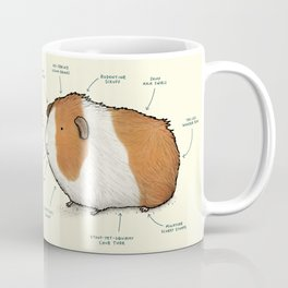 Anatomy of a Guinea Pig Coffee Mug