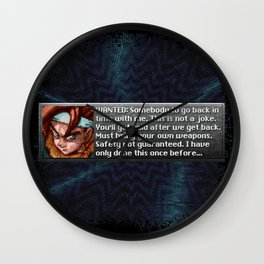 Safety Not Guaranteed New Game + Wall Clock
