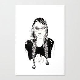 miss makeena Canvas Print