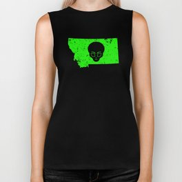 UFO Hunting Abduction Extraterrestrial Archaeology Montana Biker Tank