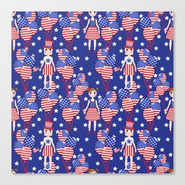 4th July Canvas Print