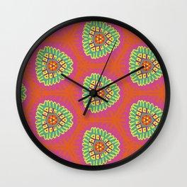 Fruit Punch Pattern Wall Clock