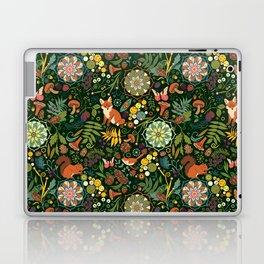 Treasures of the emerald woods Laptop & iPad Skin
