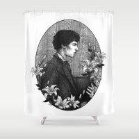 sherlock holmes Shower Curtains featuring SHERLOCK | POTO AU - Sherlock Holmes by inferno92000