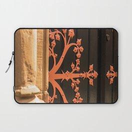 Ornate metalwork door hinge Laptop Sleeve